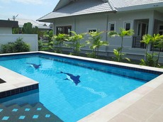 Corner Plot Pool Villa for Rent
