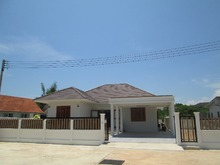 New House In Residential Area