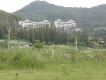 SMALL GOLF COURSE VIEW LAND PLOT FOR SALE