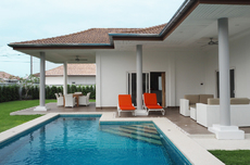 Great Private Pool Villa West Of Hua Hin